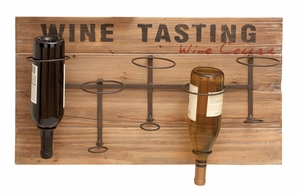 Wine Rack Wall Decor - Cute Wine Rack With Handy Supports Brand Woodland