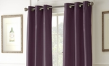 Wine Shade Black Out Curtains Pack of Two