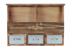 Wonderful and Unique Wooden Cabinet with Intricate Design by Urban Trends Collection