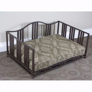 4D Concepts Wonderful Brown Metal Cocoa Swirl Daybed by 4D Concepts