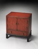 Wonderful Courtland Distressed Red Accent Cabinet by Butler Specialty