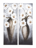 Wonderful Customary Styled Canvas Art 2 Assorted by Woodland Import