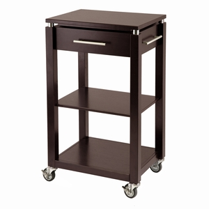 Wonderful & Modern Linea Kitchen Cart by Winsome Woods