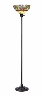 Wonderful Modish Styled Torchiere Floor Lamp by Chloe Lighting