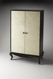 Wonderful Styled Bello Leather Armoire by Butler Specialty