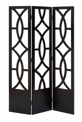 Wood 3 Panel Screen Each Panel States New Heights Of Handicraft Brand Woodland