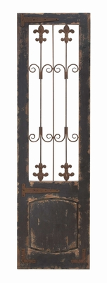 Wood Metal Wall Decor For Dressing Up The Wall In Vertical Style Brand Woodland