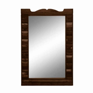 Wood Mirror Antique with Clear, Blemish Free and Durable Brand Woodland