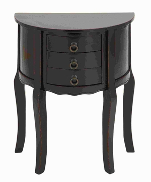 Wood Night Stand with Efficient Drawer Fronts in Smoothly Finish Brand Woodland