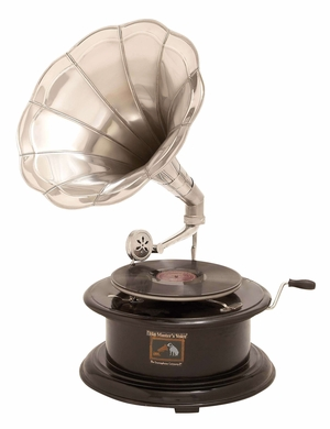 Wood Rod Gramophone A Musical Decor Designed With Fine Art Brand Woodland