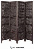 Wood Room Dividers