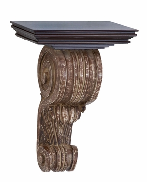 Wood Wall Corbel A Great Wall Decoration To Extend Storage Capacity Brand Woodland