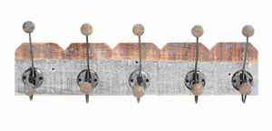 Wood Wall Hook with Hassle-Free installation and Secure Usage Brand Woodland