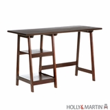 Wooden Gavin Espresso Finish Computer Desk by Southern Enterprises
