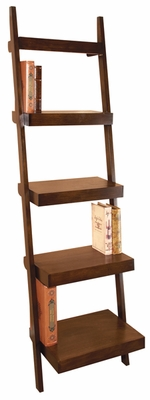 Wooden Leaning Shelf, Multi-Purpose Rack, 69 Inch x 21 Inch Brand Woodland