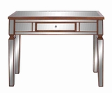 Wooden Mirror Console Table with Drawer and Colorful Scheme Brand Woodland