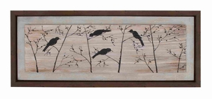 Wooden Natural Framed Art with Beautiful Wooden Frame in Brown Brand Woodland