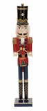 "Wooden Nutcracker 30"" Tall Holiday Decor"