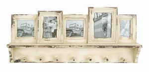 "Wooden Photo Frame with Hooks 15"" Height Brand Woodland"