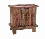 Wooden Rustic Cabinet with Quality Teak for Lasting Durability Brand Woodland