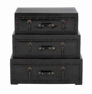 Wooden Trunk Cabinet with Rich design and natural texture Brand Woodland