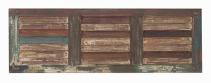Wooden Wall Panel in Rectangular Shaped and Three Square Sections Brand Woodland