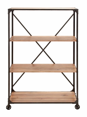 Work Shelf - Portable Workshop Shelf With Solid Wood Levels Brand Woodland