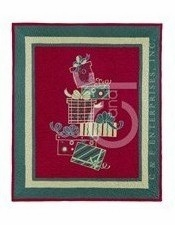 Woven Throw Blanket Of Gift Boxes To Cover Your Warm Bed Brand C&F