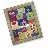 Woven Twelve Gifts Themed Throw Blanket For Your Warm Bed Brand C&F