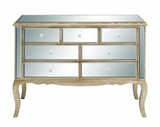 Yima Lovely and Exquisite Wood Mirror Chest by Woodland Import