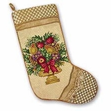 Yuletide Nativity Stocking Pair, 8.5 X 20 Inch Brand C&F