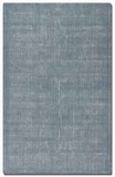 Zell Blue Slate 5' Hand Loomed Wool Rug with Off White Undertones Brand Uttermost