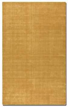 "Zell Goldenrod 16"" Hand Loomed Wool Rug with Off White Undertones Brand Uttermost"