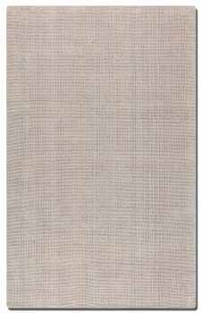 Zell White Red 5' Hand Loomed Off White Wool Rug Brand Uttermost