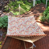 Zoe Citrus 11' Reversible Quilted Hammock by Alogma