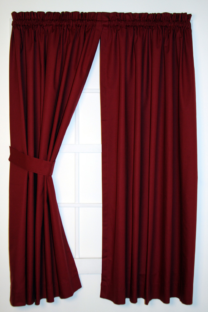 Panel Curtains are the perfect window treatments to decorate your long ...