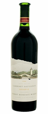 1989 Robert Mondavi Reserve  Napa Valley red wine Cabernet Sauvignon
