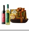 Cabernet and Sauvignon Blanc Wine Duet Gift Basket