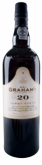 Graham's 20 Year Finest Cask Natural Tawny Port 750ML