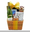 Holiday Gourmet Wine Gift Basket