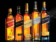 Ultimate Johnnie Walker Sample Pack - Red, Black, Green, Gold, Blue