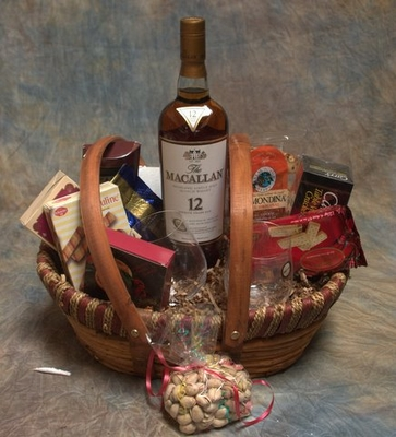 The Macallan Scotch Gift Basket