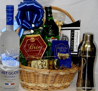 Martini Gift Basket