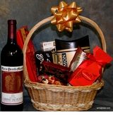 Perfect Romance -Napa Valley (100% ) Cabernet Gift basket