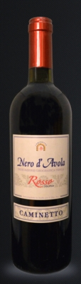 Nero D' Avola Rosso Caminetto Red Wine 750ml