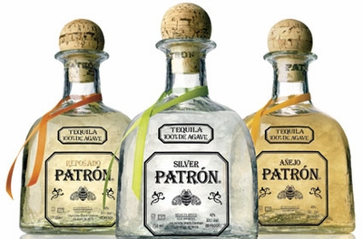 Patron Tequila 3-Bottle Sample Pack With Silver, Reposado, Anejo