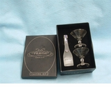 Pravda Vodka Tasting kit 50ml with 2 Martini Glasses
