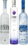 Vodka Celebration - 3 pack ( Grey Goose, Belvedere, Ciroc Vodka 750ml)