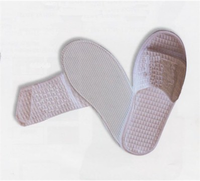 Adjustable Waffle Slippers in Size Small