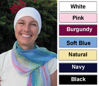 Chemotherapy/Hair Loss/Cancer Cap 100% Cotton USA - Comfort Cap
